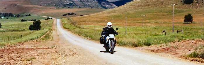 Motorcycle tour of Eastern Cape South Africa