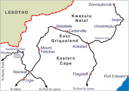 African Motorcycle tour to Eastern Cape and Transkei South Africa